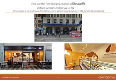 Find out the new charging station at Etnacoffe