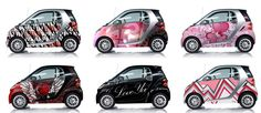 Smart Car Custom Wraps.  Tacky?