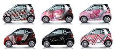 Smart Car Custom Wraps.  Tacky?