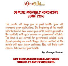 Gemini Monthly Astrology -Get Gemini Monthly horoscope prediction to know about the monthly astrology of Gemini Sign.