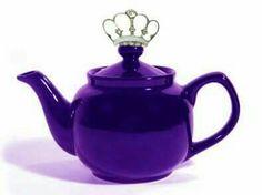 Purple Princess Teapot