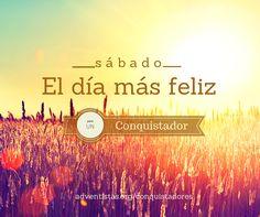 #felizsabado #conquistadores #feliz