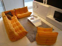 Togo Sofa By Michel Ducaroy For Ligne Roset. #LiveBeautifully #LigneRosetSF  Www.lignerosetsf