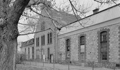 Territorial Prison--Wyoming Tales and Trails ( Territorial Prison before conversion to Park and Museum, photo courtesy Library of Congress. )