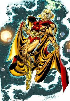 Adam Warlock from Marvel Comics Cosmic Comics, Marvel Comics Art, Marvel Comic Books, Marvel Vs, Marvel Heroes, Comic Books Art, Captain Marvel, Comic Art, Book Art