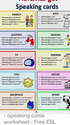 you got - Bildung Web Learning English For Kids, Teaching English Grammar, English Lessons For Kids, Kids English, English Language Learning, English Words, English Vocabulary, Learn English, English Lesson Plans