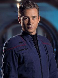 "Cmdr. Charles ""Trip"" Tucker - Connor Trinneer  My second favorite Star Trek character of all time!"