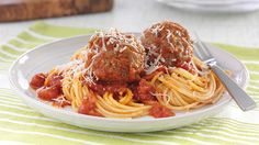 Spaghetti aux Boulettes de Viande de Soir de Semaine