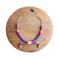Lilias Rope Necklace - interesting