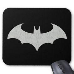 Cool Batman Logo Mouse Pad - logo gifts art unique customize personalize