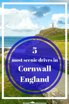 These top scenic drives in Cornwall will inspire your next holiday with empty country lanes, stunning coastlines & pretty clifftop villages. Yorkshire England, England Uk, Oxford England, Yorkshire Dales, Travel England, London England, Best Campervan, Devon And Cornwall, Family Travel