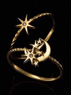 Stars&moon ring / ファッションウォーカー シャウラスター リング shopstyle.co.jp