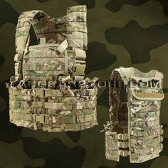 Condor Modular Chest Set - Multicam - CS-008 - Tactical Vests & Rigs