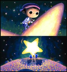 Pixar Post - For The Latest Pixar News: Lu Luna Concept Art from Katy Wu