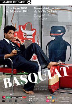 Exposition Jean-Michel Basquiat - Musée d'Art Moderne Paris - 2011 - Photo : Ville de Paris
