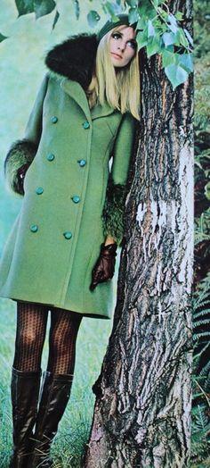 Jill Kennington photo Carlo Orsi, Arianna 1968