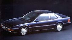 ホンダ プレリュード。バブル期に一世を風靡した車。バブルと言えど、大学生には高嶺の花だった。