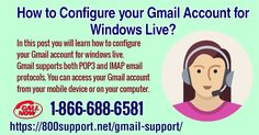 Learn how to configure your #GmailAccountForWindowsLive. Gmail supports both POP3 and IMAP email protocols. You can access your Gmail account from your mobile device or on your computer. You can also use an email program like Windows Live Mail to access your Gmail account. Gmail Support Link : https://800support.net/gmail-support Follow Us :) https://www.facebook.com/laurenbjohn01/ https://twitter.com/laurenbjohn01 https://www.pinterest.com/laurenbjohn01/