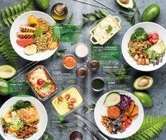 Healthy meals for dinners recipes easy beef Drink Menu Design, Cafe Menu Design, Food Web Design, Restaurant Menu Design, Healthy Dinner Recipes, Vegetarian Recipes, Salad Menu, Vegan Cafe, Healthy Menu