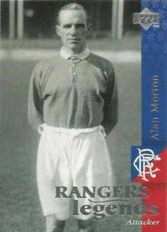 Alan Morton of Rangers in Rangers Football, Rangers Fc, International Soccer, Glasgow, Follow Follow, Scotland, Bears, Pride, Bear