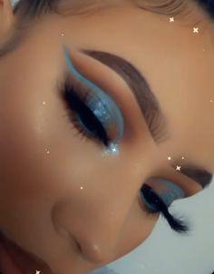 Dope Makeup, Edgy Makeup, Glamour Makeup, Baddie Makeup, Makeup Eye Looks, Eye Makeup Art, Kiss Makeup, Flawless Makeup, Smokey Eye Makeup