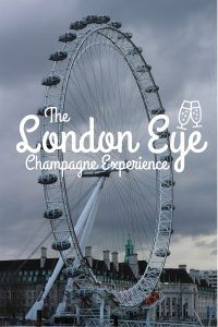 The London Eye Champagne Experience - The Traveling Storygirl