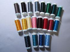 Sulky Poly Deco Embroidery Thread Set B 20 spools - Machine Bobbins & Thread