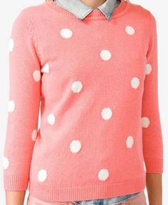 Polka Dot Sweater | FOREVER 21 - 2000049543