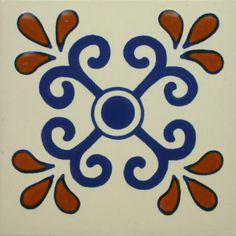 Especial Decorative Tile - Zacatecas – Mexican Tile Designs