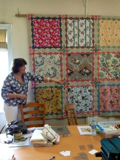 Ooooh, the possibilities ... @ Bloom Quilt made by Australian quilter Bridgette Giblin