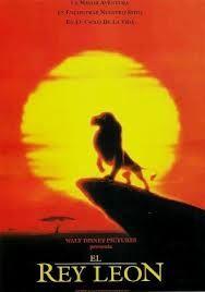 El rey león. Una de las mejores películas de Walt Disney. Magnífica!
