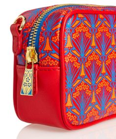 A detail shot of the Liberty London small crossbody bag. Shop new Liberty London bag styles: http://www.liberty.co.uk/fcp/categorylist/dept/liberty-london_bags