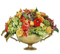 Faux Mixed Fall Flor