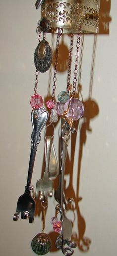 Hanging Heart Wind Chime
