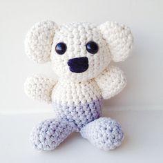 Crochet Koala Pattern.