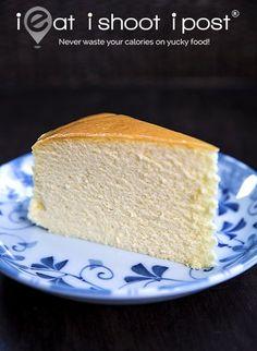 Japanese Cheesecake -  Ingredients:  Yellow Team 250g Philadelphia cream cheese (1 block) 6 egg yolks 70g castor sugar (This is half of the total 140g) 60g butter (1/4 block) 100 ml full cream milk 1 Tbsp. lemon juice 1 tsp lemon zest (or lemon essence) (optional) 60g cake flour 20g cornflour 1/4 tsp salt 2 tsp Vanilla extract (optional)  White Team 6 egg whites 1/4 tsp cream of tartar 70g castor sugar (This is half of the total 140g)