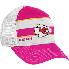 Reebok Kansas City Chiefs Women s Breast Cancer Awareness Trucker Hat  Chiefs Football 84e3099e7f8c
