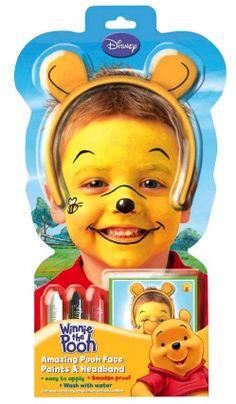 Set Serre Tête  Et Maquillage Winnie L'Ourson Disney™