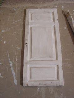 Making a shabby panel door