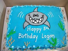 Shark Birthday cakes | Shark Birthday Cake | Flickr - Photo Sharing!