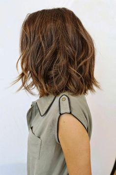 Long Bob Hairstyles for Thick Hair 2019 - lifestyle trends mädchenfrisuren ideen mittellanges haar wellig - Frauen Haare Style Bob Hairstyles For Thick, 2015 Hairstyles, Pretty Hairstyles, Bob Haircuts, Girl Hairstyles, Wedding Hairstyles, Hairstyle Ideas, Brown Hairstyles, Neck Length Hairstyles