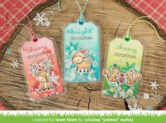 Yainea joins us today to share a fun idea for shaker gift tags made using Tag,You're It, Cheery Christmas and the Fuse Tool! She created a video tutorial so you can see her process. You can watch the