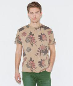 Springfield - camiseta tropic floral.