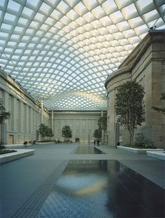 Smithsonian Institution Courtyard, Washington DC, USA – Foster + Partners