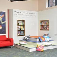 Big Book storytime feature, Gateshead Central Library