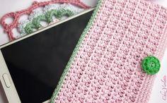 Tuto Etui de téléphone portable au crochet - cas de téléphone Crochet Motif bricolage - Chez Violette
