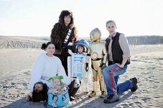 Star Wars Gruppenkostüme für Familie mit Kindern