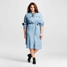 b2549ee4262 Shop The Who What Wear Target Collection. Plus Size FallPlus Size WomenMidi  Shirt DressDenim ...