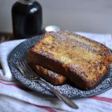 Decadent Custard Orange-Vanilla Brioche French Toast Recipe