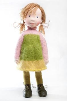 Anais- Handmade cloth doll (partial payment accepted)